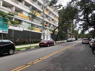 Foto do Apartamento-Apartamento Studio mobiliado com 1 vaga na Vila Madalena, próximo ao metrô