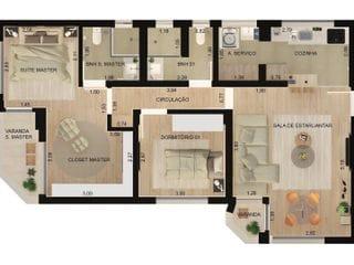 Foto do Apartamento-Apartamento com 2 dormitórios à venda, 78 m²  - Alto da Lapa - São Paulo/SP