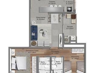 Foto do Apartamento-Apartamento à venda, .