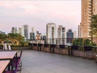Foto do Apartamento-Apartamento com 1 dormitório à venda, 66 m² por R$ 1.027.244,40 - Brooklin - São Paulo/SP