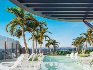 Foto do Apartamento-Apartamento com 1 dormitório à venda, 49 m² por R$ 831.048,00 - Brooklin - São Paulo/SP