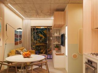 Foto do Apartamento-[ENTREGA JUL/23] Apartamento no 2° andar com 53,37m², 2 Dormitórios, 1 Suíte, Sacada com Churrasqueira e 1 vaga - Água Verde, Curitiba, PR