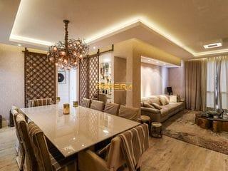 Foto do Apartamento-Apartamento elegante à venda no Batel, todo reformado e decorado com 162m² privativos e ótima localização - Batel, Curitiba, PR