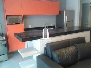 Foto do Apartamento-aparamento 57 m² no DNA Pinheiros semi mobiliado.