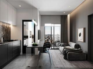 Foto do Apartamento-Edifício Verttice - Apartamento Garden 76 M²,2 Quartos, Churrasqueira na Sacada, a Venda no Bairro Tingui