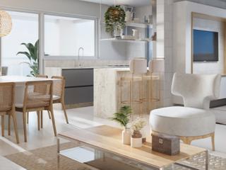 Foto do Apartamento-PANTAI HOME CLUB - Apartamento amplo de frente para o mar, com 2  dormitórios e 1 suíte  à venda, Balneário Piçarras, SC