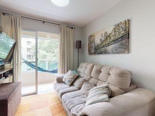Foto do Apartamento-Apartamento bem localizado esta em ótimas condições - próximo ao parque Burle Marx. Região arborizada - com padaria - farmácia - e mercado a 2 quadras do edifíc
