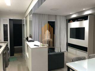 Foto do Apartamento-Apartamento a venda com 63m² com 2 dormitórios, 2 banheiros e 1 vaga de garagem localizado em Campo Belo, São Paulo