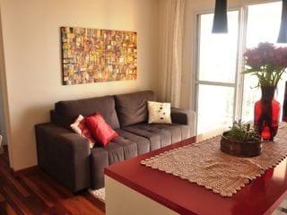 Foto do Apartamento-O apartamento está na Rua Antonio Julio dos Santos - Morumbi. Tem 2 quartos, 1 suite e 1 vaga de garagem. 61 m2.  Mais informações em www.gmimobiliariasp.com.br