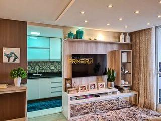 Foto do Apartamento-Apartamento mobiliado com 2 quartos, sendo 1 suíte à venda em Condomínio Edifício Paul Van Limburg.  Capão Raso, Curitiba, PR
