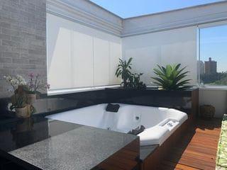 Foto do Apartamento-Cobertura no Panamby, 2 quartos sendo 1 suite, 1 vaga, 118m.