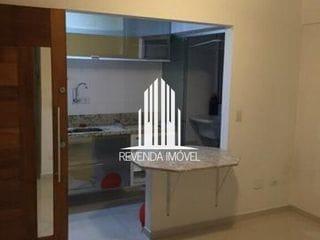 Foto do Apartamento-Lindo apartamento para venda de 50 m², 2 dormitórios, 1 banheiro, 1 vaga de garagem sala para 2 ambi