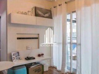 Foto do Apartamento-Lindo apartamento para venda de 44 m², 1 dormitório, 1 banheiro, 1 vaga de garagem. Arejado com ótim
