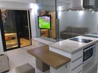 Foto do Apartamento-Apartamento para Locação Bela vista , 1 quarto , 1 Vaga , 40m MOBILIADO