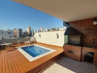 Foto do Apartamento-Cobertura Duplex para Locação Pompeia , 4 Quartos , 3 Vagas ,240m MOBILIADO