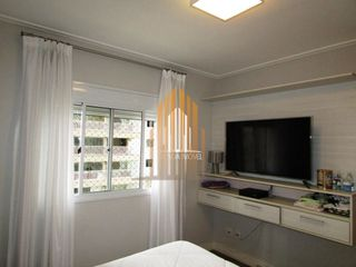 Foto do Apartamento-Apartamento espaçoso com churrasqueira na varanda na Barra Funda