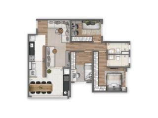 Foto do Apartamento-Apartamento à venda, 84 m² por R$ 665.600,00 - Tatuapé - São Paulo/SP