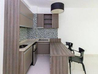 Foto do Apartamento-Loft para venda, 1 quarto,1 vaga, 42m
