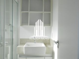 Foto do Apartamento-Apto 1 dorm c/ living ampliado + 1 vaga - Campo Belo