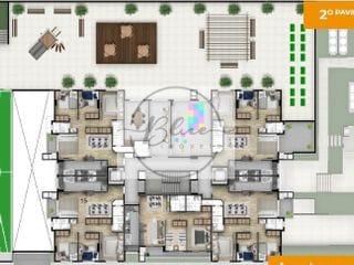 Foto do Apartamento-Apartamento à venda 2 Quartos, 1 Suite, 1 Vaga, 68.25M², Capão Raso, Curitiba - PR