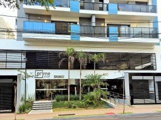 Foto do Apartamento-Apartamento no Ed. Prime Paranaguá com 01 dormitório, sendo 01 suíte, sala, cozinha, área de serviço e sacada com churrasqueira.