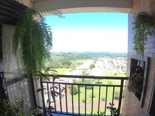 Foto do Apartamento-Lindo apartamento a venda no Upper Jardim Botânico no Terra Bonita - 2 quartos com sala estendida - sacada com churrasqueira