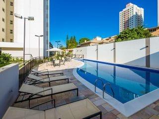 Foto do Apartamento-Ótimo apartamento a venda no bairro Aurora, Londrina/PR - 2 quartos (1 suíte) - Sala estendida - Andar Alto - Sacada com churrasqueira