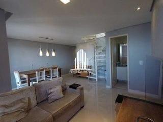 Foto do Apartamento-Excelente cobertura no Condomínio Edifício Oásis, com 2 dormitórios e duas vagas.