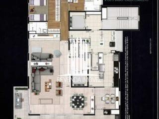 Foto do Apartamento-3 suites, 4 vagas, deposito