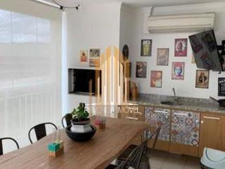 Foto do Apartamento-Apartamento com 3 suítes, 5 banheiros, 3 vagas + deposito 156m² Condomínio Ghaia Tamboré