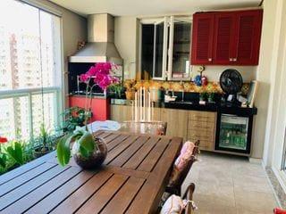 Foto do Apartamento-Apartamento Premium 3 suítes, 3 vagas Tamboré 156m, andar 11