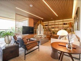 Foto do Apartamento-Apartamento de 1 Doritório sendo Suíte com 1 Vaga de Garagem no Bairro de Perdizes