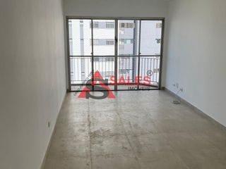 Foto do Apartamento-Apartamento com 90m², 3 dormitórios, sendo 1 suíte e 1 vaga. Área de lazer com jardim, piscina, piscina infantil, playground e salão de festa.