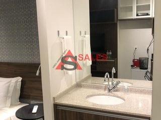Foto do Apartamento-Studio com 24 m2, ao lado do Metrô, Penúltimo Andar, Lazer Completo, Pronto para Morar, Linda Vista, Melhor Localização da Vila Madalena.