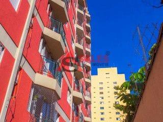 Foto do Apartamento-Lindo apartamento 50 m²,1 Dormitório, 2 banheiros, varanda  de frente para faria lima , armários embutidos  nos dormitórios e cozinha, 1 vaga.