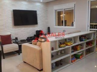 Foto do Apartamento-Apartamento com 3 dormitórios à venda, 80m² por R$ 665.000,00 Localizado na Travessa do Boqueirão Cond. Spettaculo - Saúde, São Paulo, SP