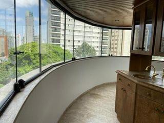 Foto do Apartamento-Belíssimo apartamento alto padrão de 246m 4 dormitorios 2 suites 3 vagas com lazer completo no Campo Belo