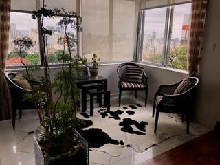 Foto do Apartamento-Apartamento para venda 230 m² 3 dormitorios, 1 suite, sala ampla, lareira, copa cozinha, 2 vagas  - Bela Vista