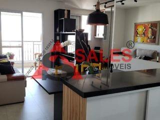 Foto do Apartamento-Apartamento à venda Metrô Conceição R$ 650.000 - 67m², 02 dormitórios (3 planta original) 01 suíte, 01 Vaga de garagem - Vila Guarani (Z Sul), São Paulo, SP