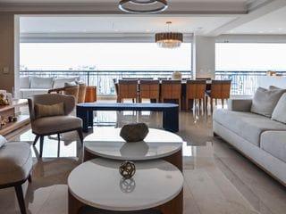Foto do Apartamento-Compre ou Alugue em Perdizes 266 M² 4 Suites 5 vagas com Ar Condicionado e Mobiliado