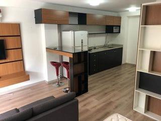 Foto do Apartamento-Apartamento Studio 48m 1 dormitorio Mobiliado 1 vaga com lazer completo no Brooklin