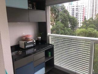 Foto do Apartamento-More no Panamby 39 M² 1 Dormitório 1 vaga fácil acesso para Marginal