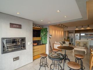Foto do Apartamento-Cobertura Mobiliada no Portal do Morumbi 1 Suite 2 vagas com deposito e churrasqueira na Varanda