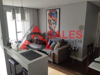 Foto do Apartamento-Excelente Apartamento com 2 dormitórios sendo 1 suite à venda, 60 m² por R$ 490.000,00 localizado na Rua Cisplatina - Ipiranga, São Paulo, SP