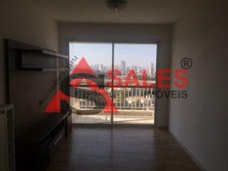 Foto do Apartamento-Lindo apartamento 62m², 2 quartos sendo um suíte + banheiro social, planejados na cozinha, sala, quartos, banheiro social e área de serviço, cozinha equipada