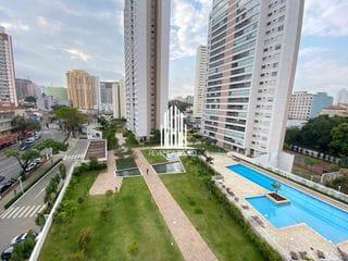 Foto do Apartamento-Apartamento com quatro dormitórios, três suites, três vagas, na Aclimação