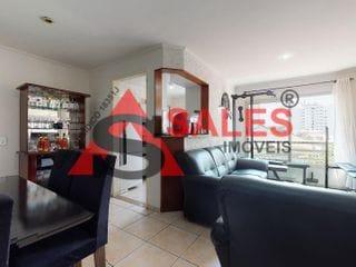 Foto do Apartamento-Excelente Apartamento com 2 dormitórios sendo 1 suite à venda, 74 m² por R$ 460.000,00 localizado na Avenida Leonardo da Vinci - Vila Guarani, São Paulo, SP