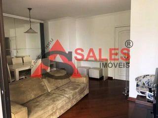 Foto do Apartamento-Apartamento à venda localizado em Indianópolis em um bairro com muita movimentação e com escolas perto