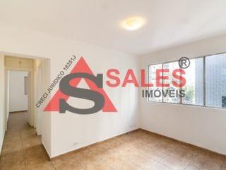 Foto do Apartamento-Apartamento com um dormitório, 37m² para locação por R$ 1.550,00/Mês - Localizado na Rua Barão de Tatuí, Santa Cecilia, São Paulo, SP