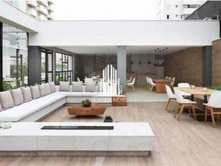 Foto do Apartamento-Apartamento à venda, novo de 50m² na Barra Funda, 1 Quarto, 1 Banheiro, 1 Vaga
